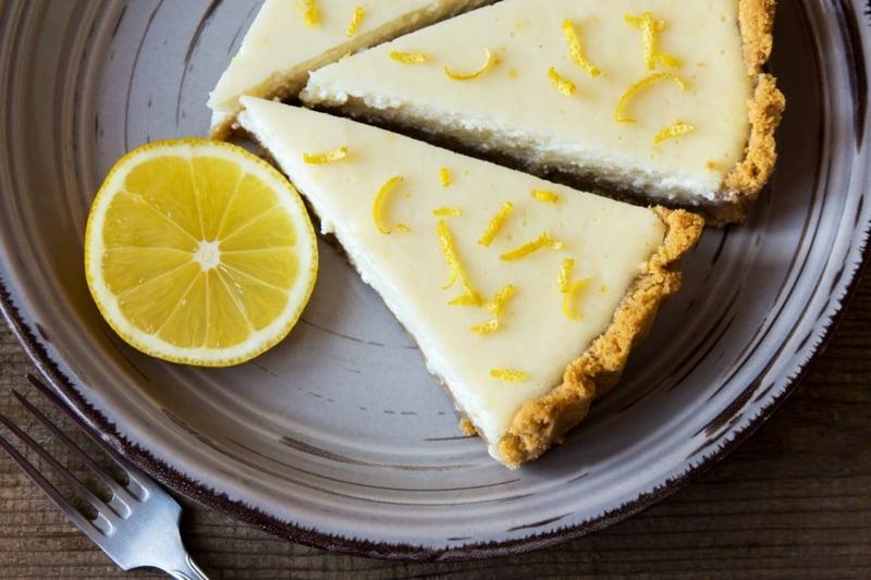 Käsekuchen ohne Backen Zitrone