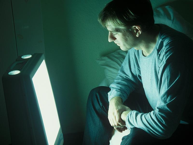 Lichttherapie-Lampe Stimmungsschwankungen