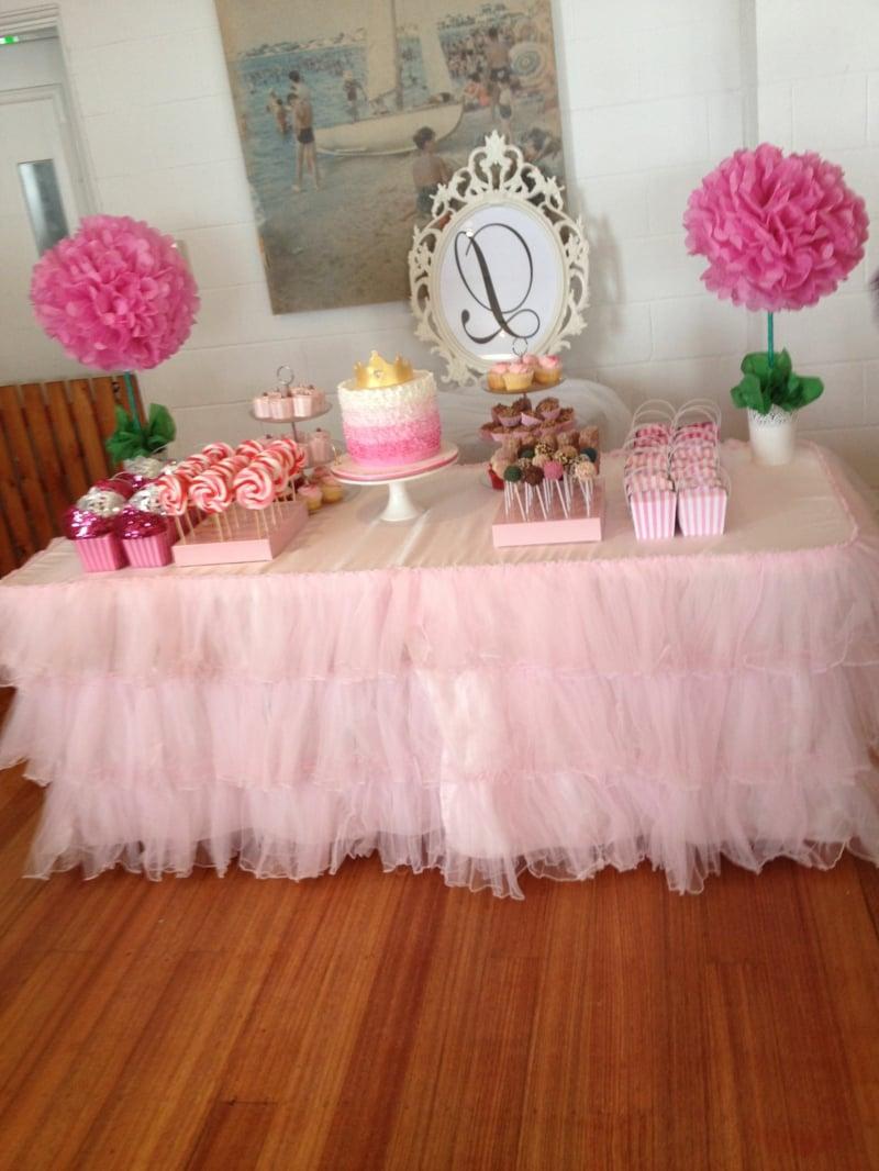Tischdeko für Geburtstag Kinderparty