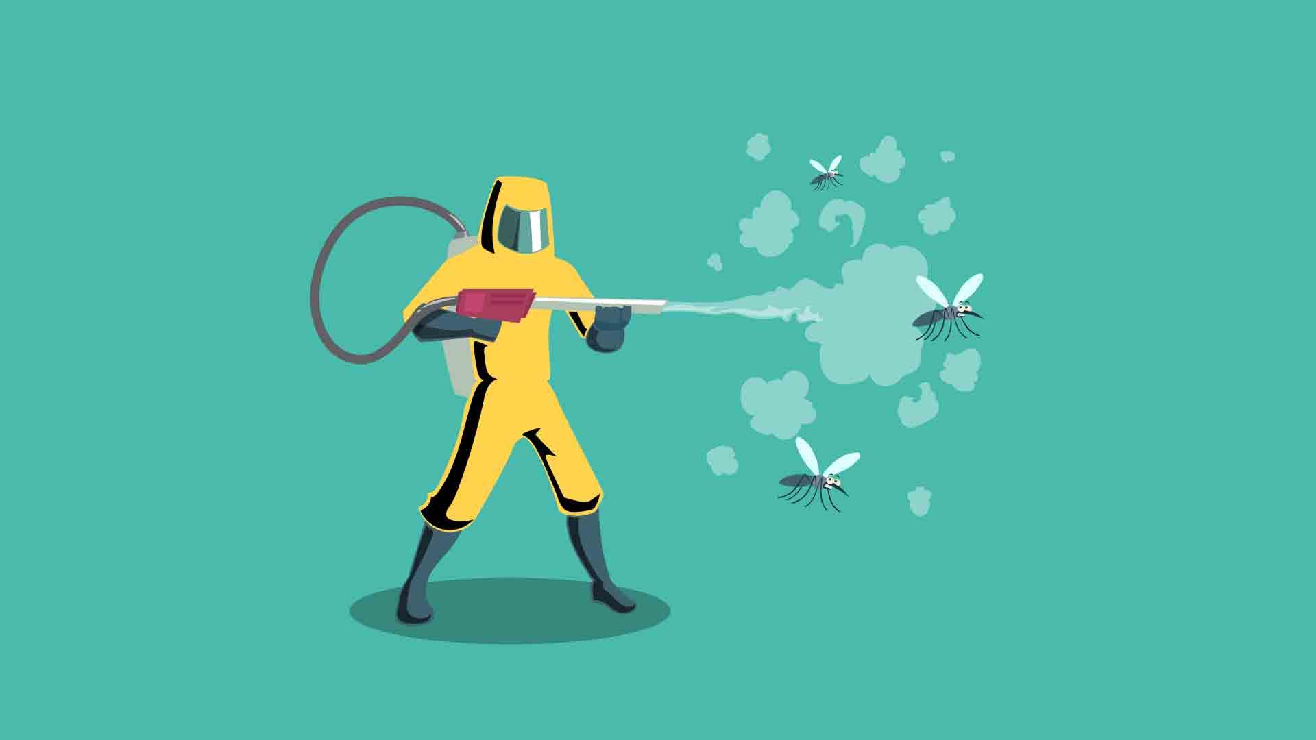 Schädlingsbekämpfung mit professionelle Hilfe