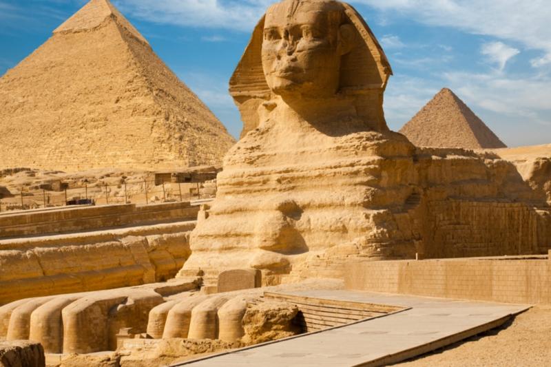 virtuelle Reise nach Ägypten machen