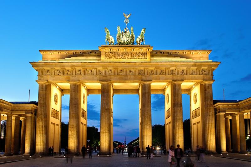 berühmte Sehenswürdigkeiten Brandenburger Tor