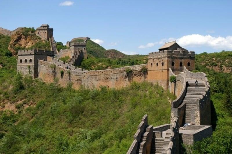 virtuelle Reise die Große Mauer Chinas