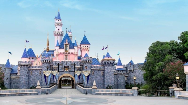 virtuelle Reise Disneyland