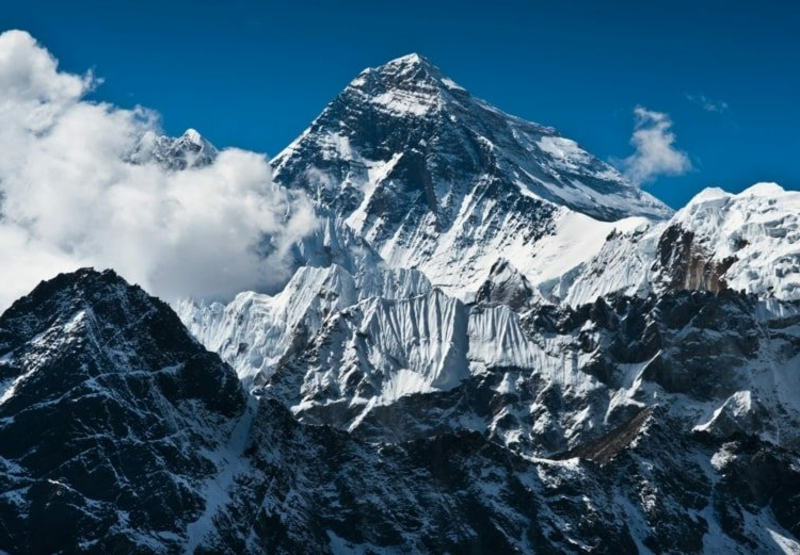 virtuelle Reise machen Google Earth Everest