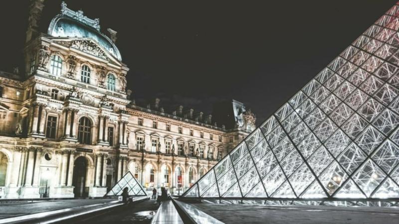 die wunderschöne Musee du Louvre
