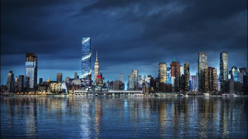 New York wunderschöne Aussicht