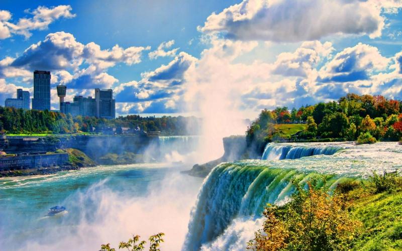 Niagara Wasserfall online besichtigen