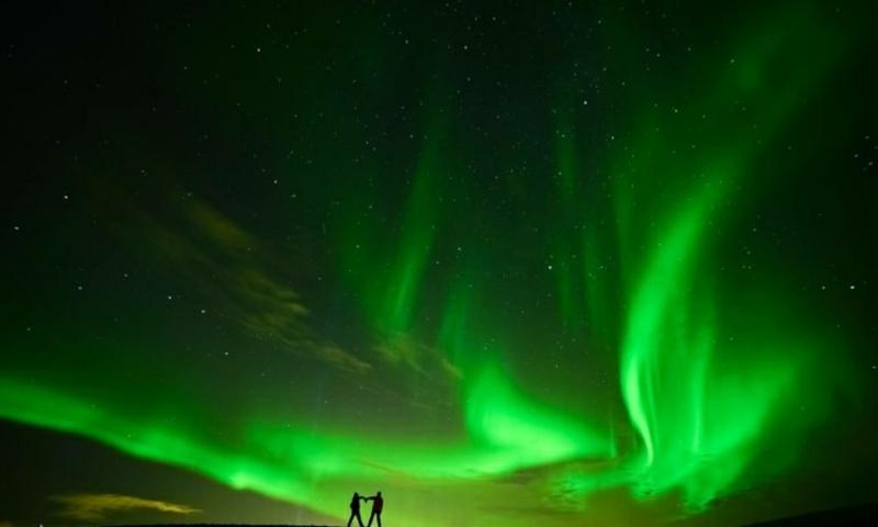 virtuelle Reise Nordlichter