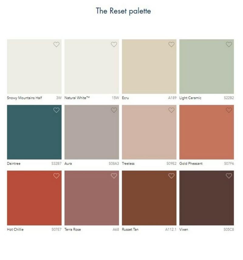 Wandfarben 2021 auswählen