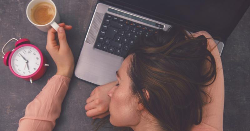 Schlafstörungen stressige Lebensweise