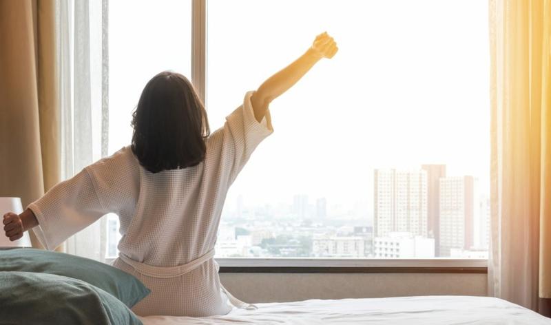 gesunder Schlaf 8 Stunden pro Nacht