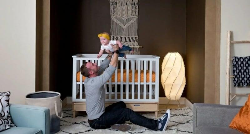 Babybett umfunktionieren Ideen DIY