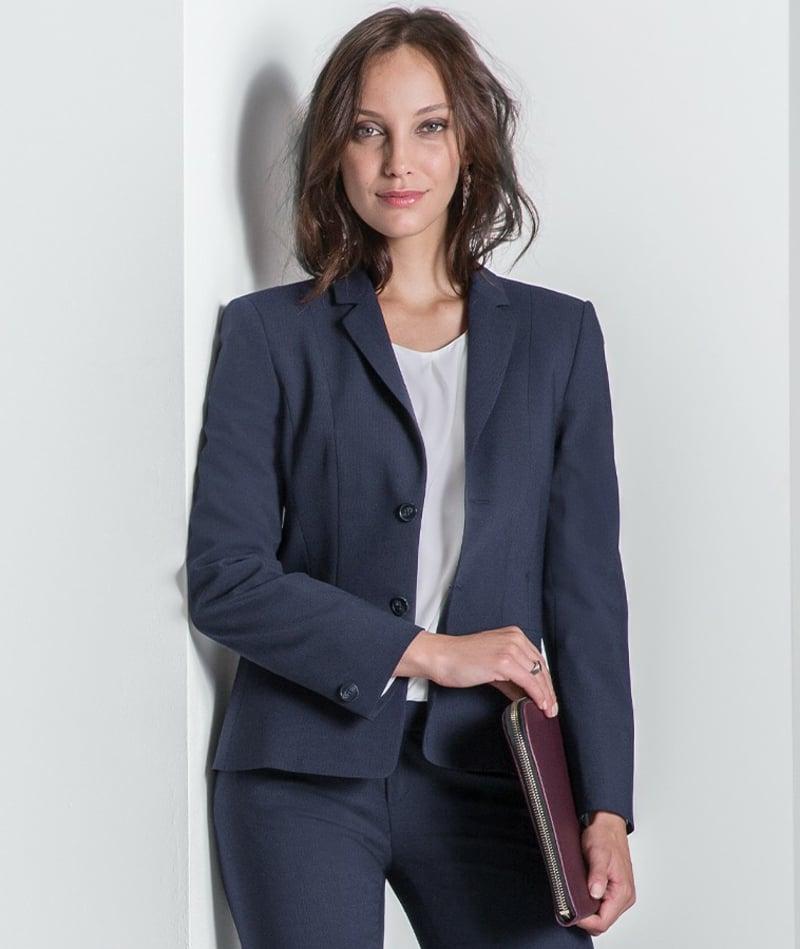 Basic Kleidung Blazer mit stilvolle Hose
