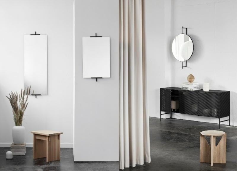 Japandi Wohntrend Accessoires Spiegel stilvoll