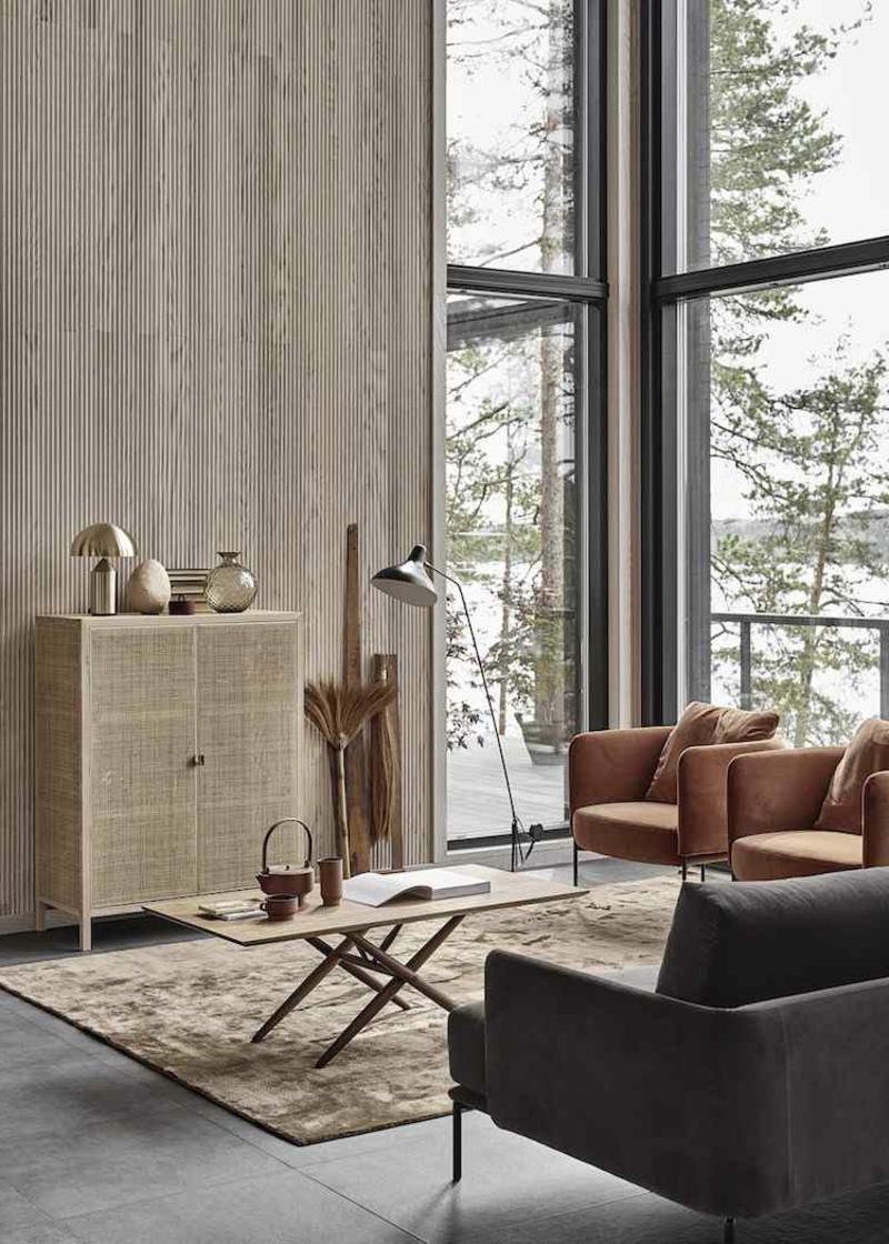 minimalistisches Interieur - nur das Notwendigste