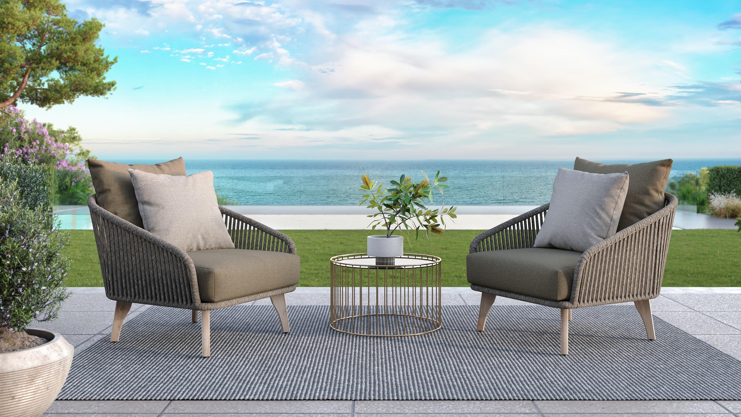 Gartenlounge gestalten mit wunderschönen Loungemöbel und Loungesets