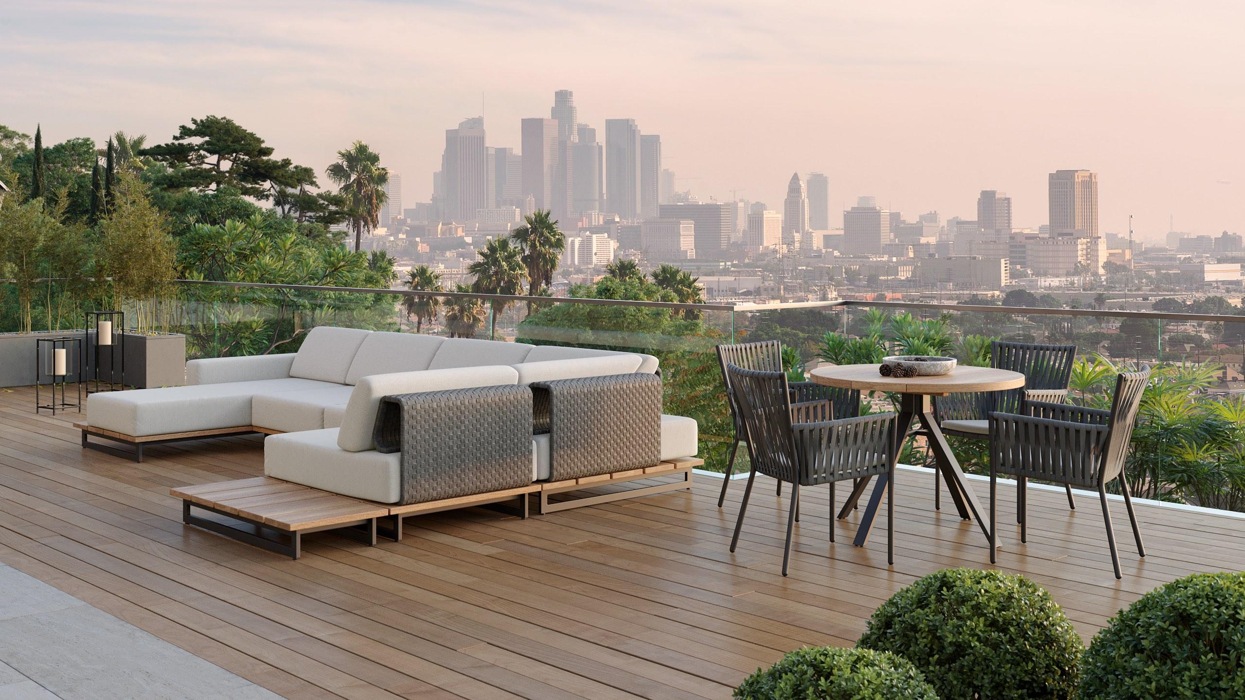 Gartenmöbel und Lougemöbel für Balkon und Terrasse