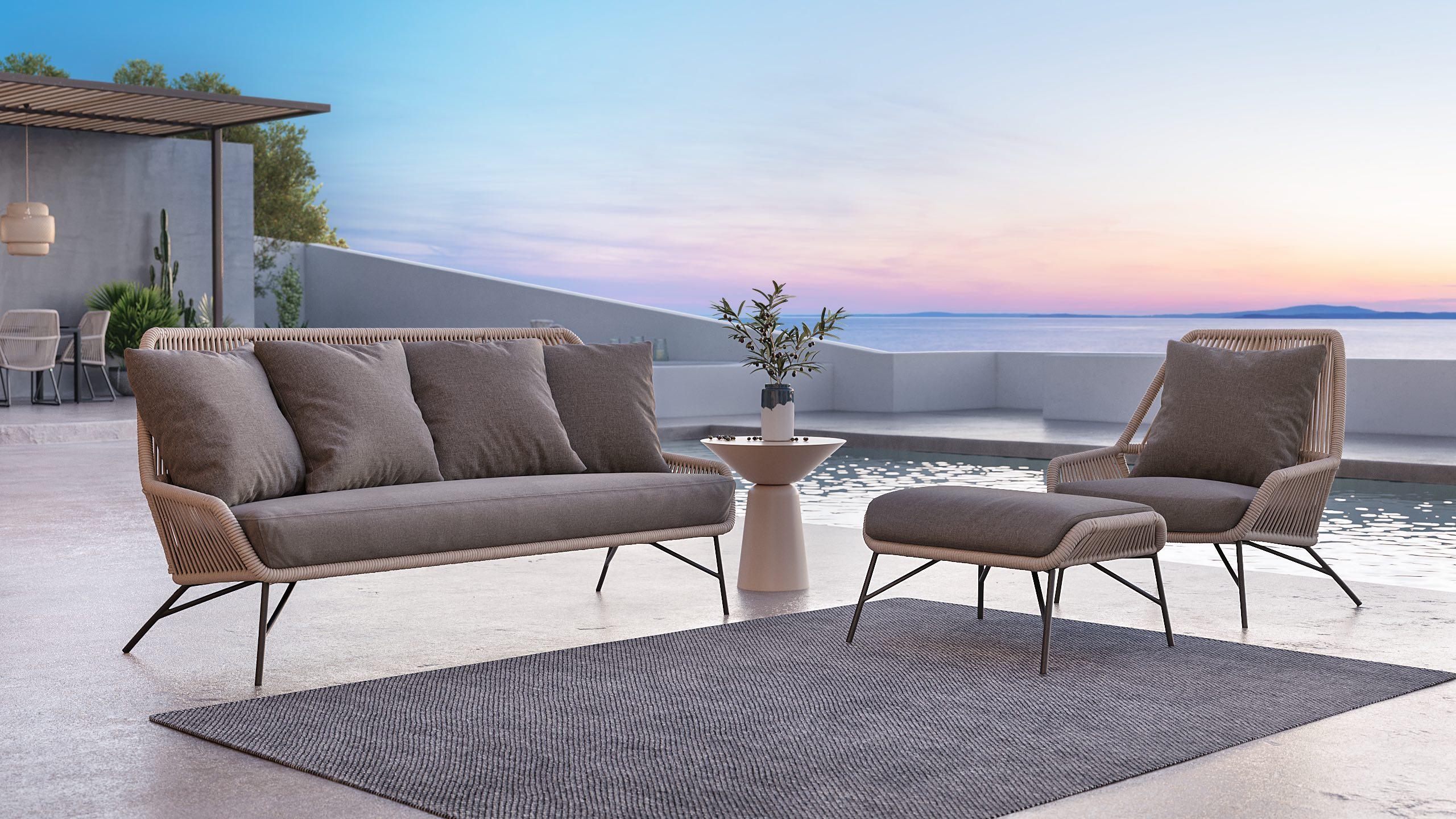 Coole Loungemöbel für Ihr zweites Wohnzimmer im Freien