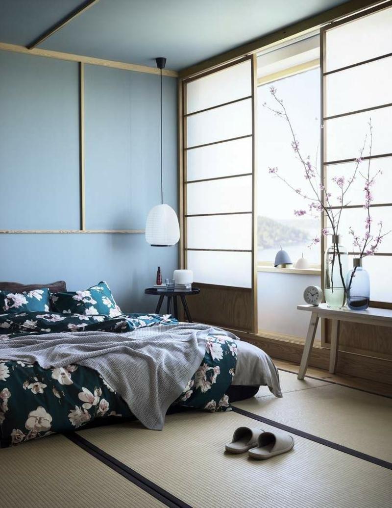 Schlafzimmer beruhigendes Blau