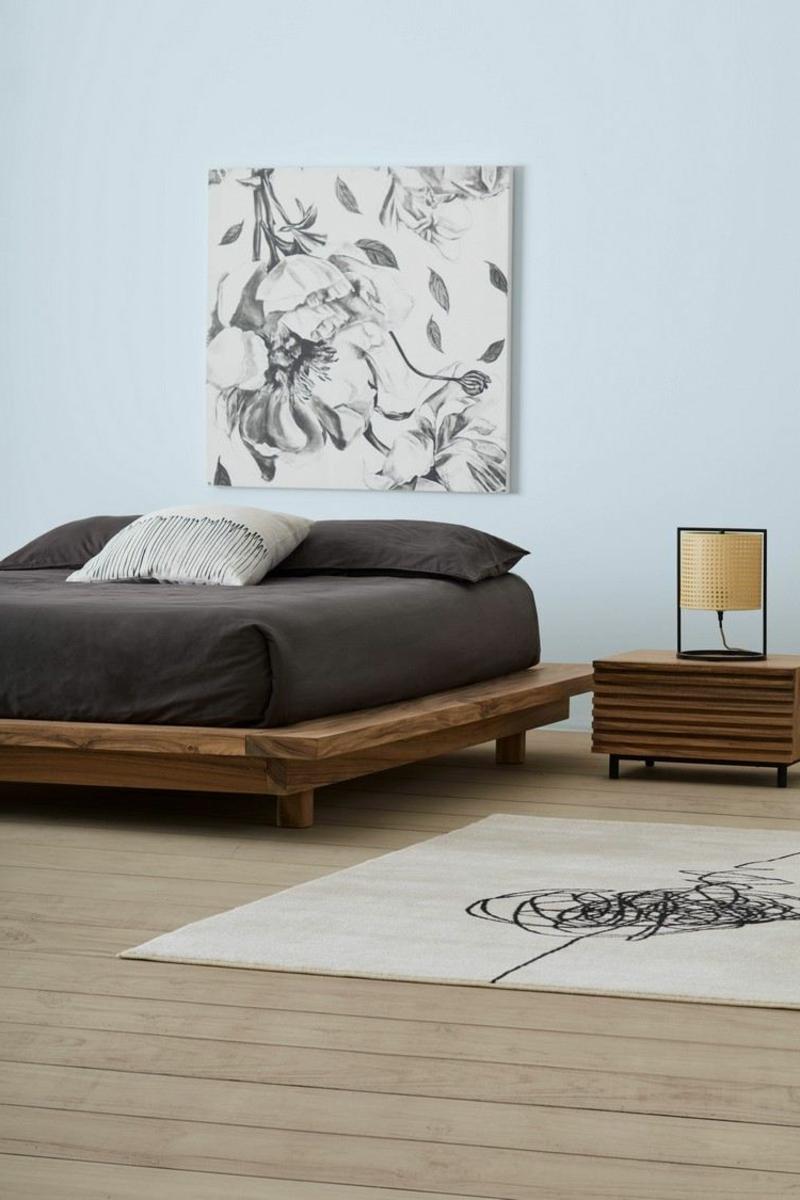 Schlafzimmer Japandi Stil
