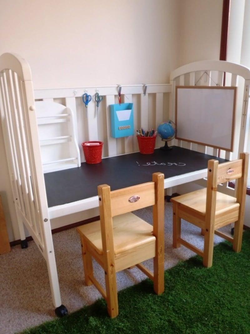 Kinderzimmer Schreibtisch interessante Idee