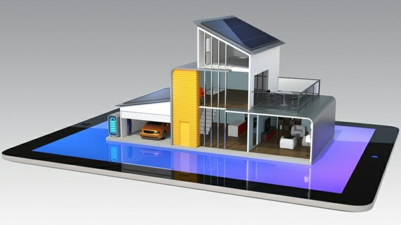 das Zuhause der Zukunft