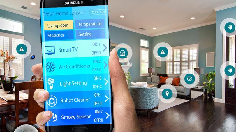 mit dem Smartphone alle Geräte zu Hause einprogrammieren