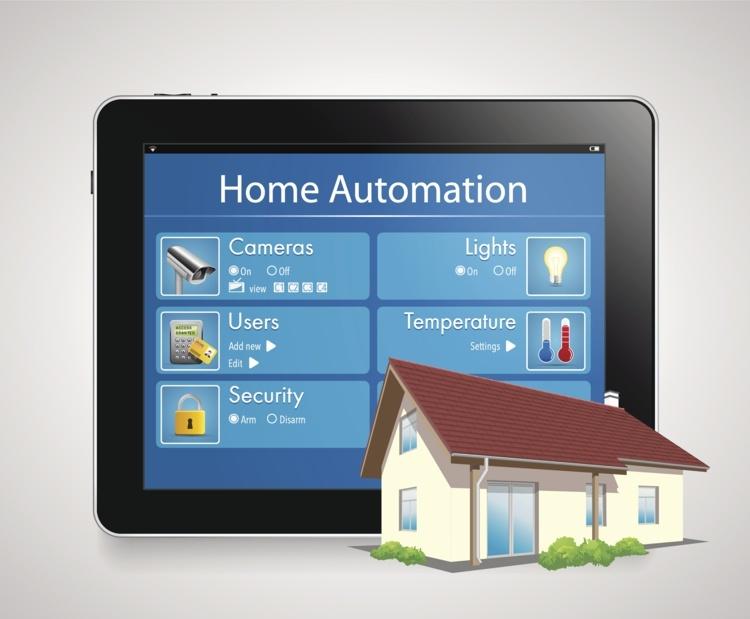 intelligentes Wohnsystem Kameras Temperatur Beleuchtung Sicherheit