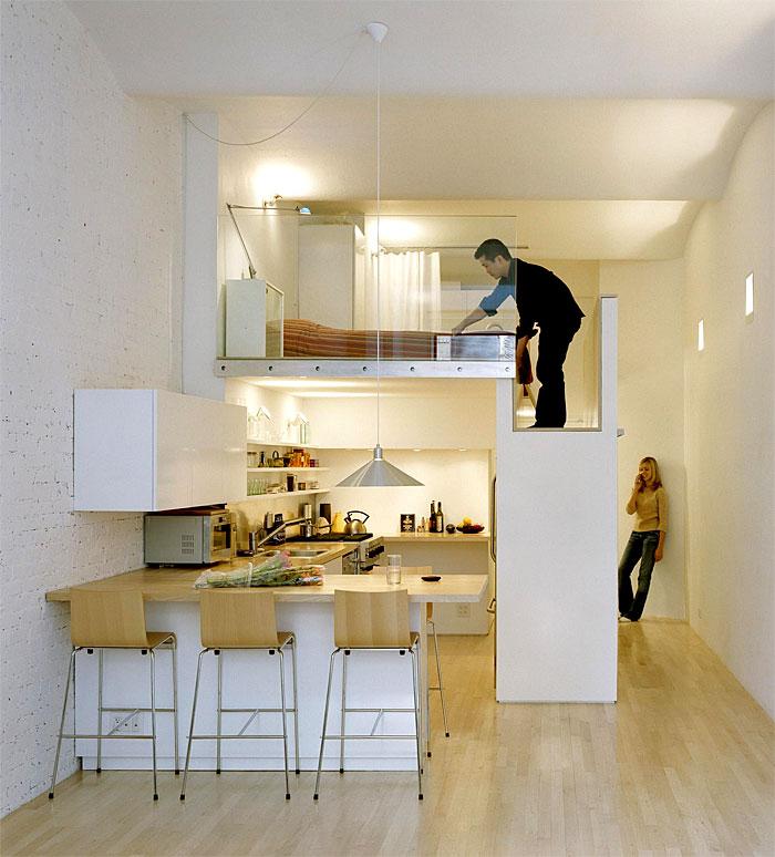 1 Zimmer Wohnung: Minimalismus liegt voll im Trend