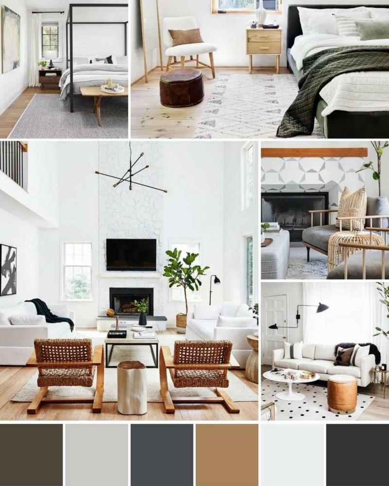 moderne Einrichtungsideen und trendige Farben 2021