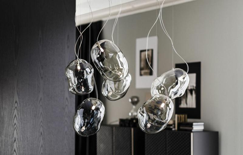 attaraktive Lichtkörper Seifenblasen