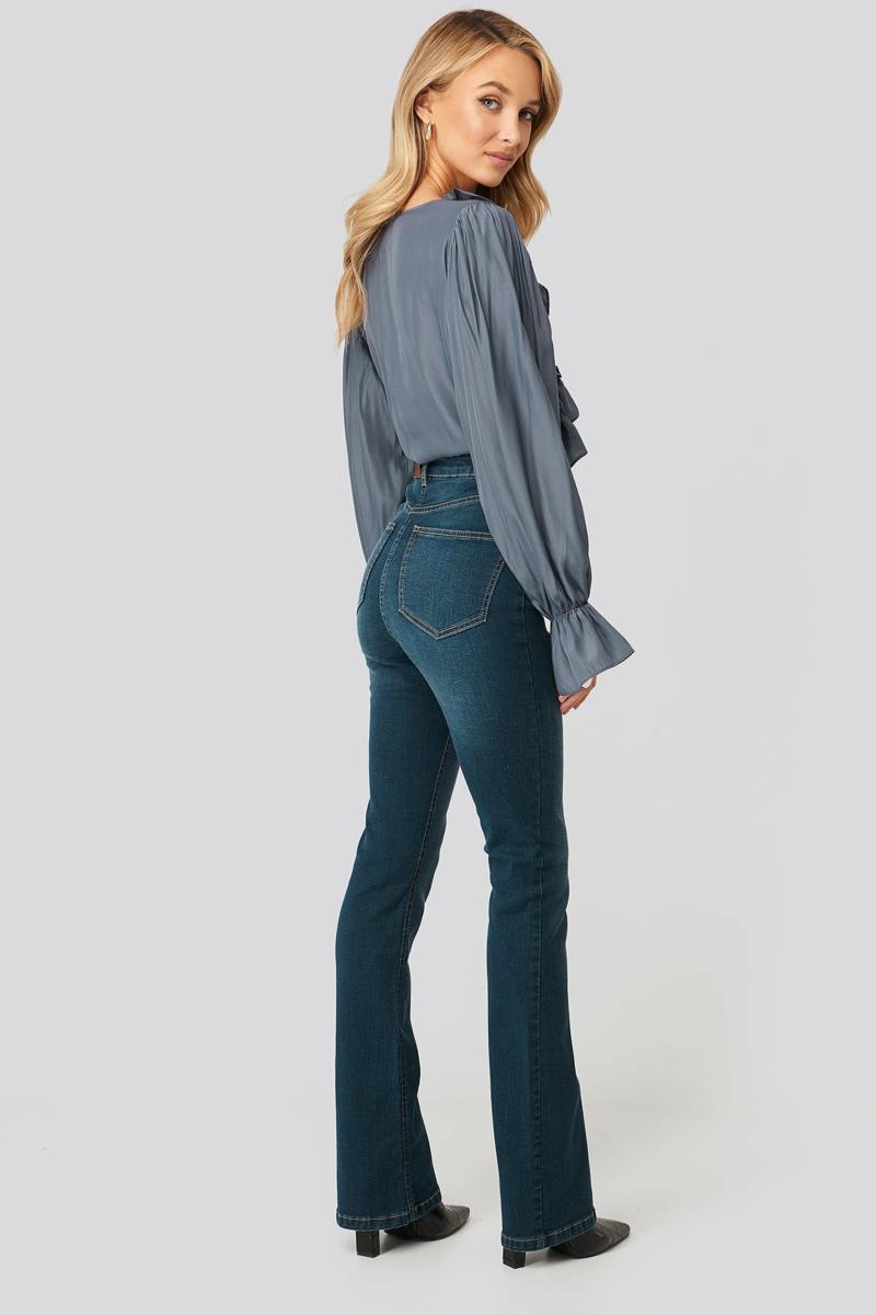Bootcut Jeans tragen