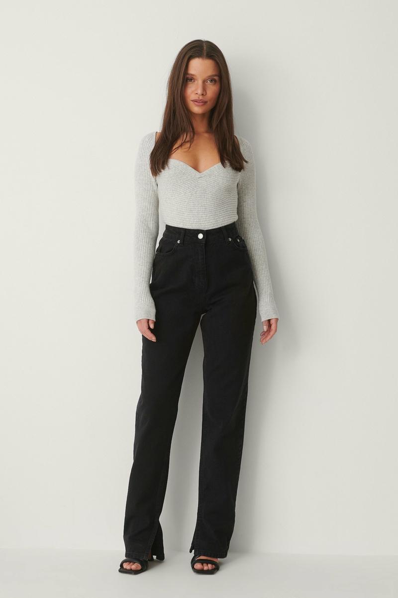 Jeans Trend 2021 dunkle Modelle