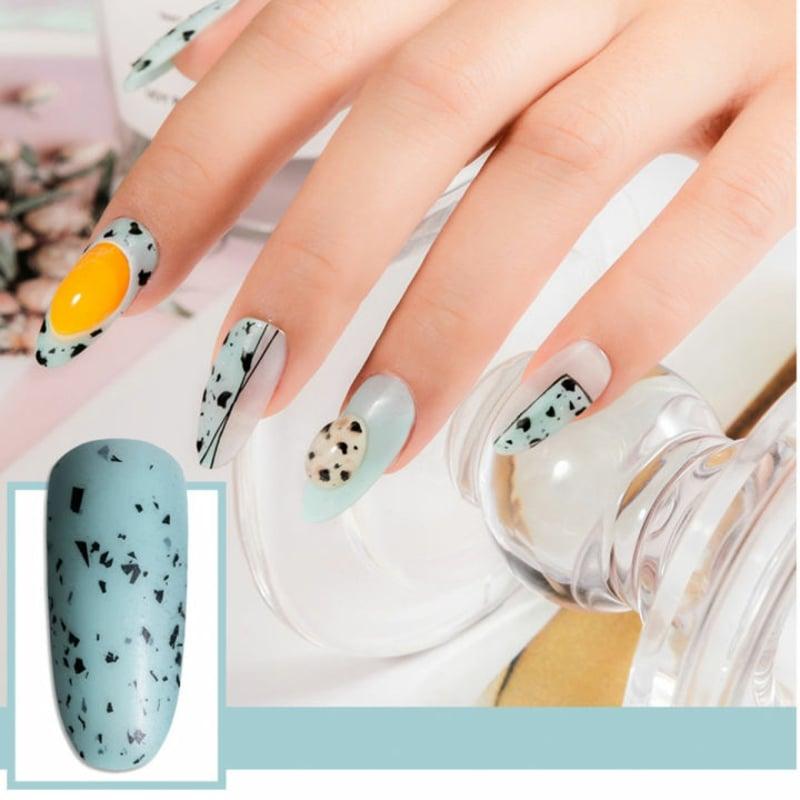 Eggshell Nails Designideen