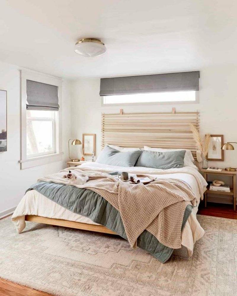 Schlafzimmer modern helle Farben