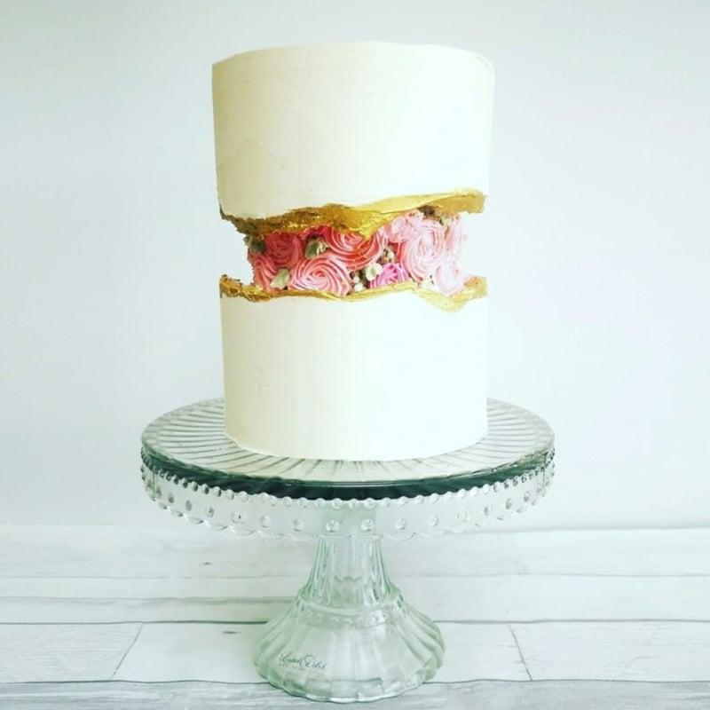 Fault Line Cake 3 Tortenböden