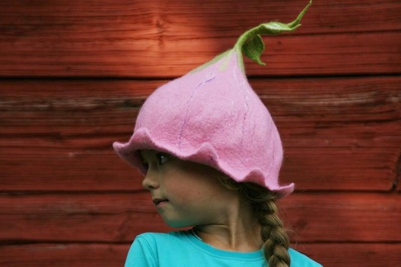 niedlicher Hut aus Filz KInd