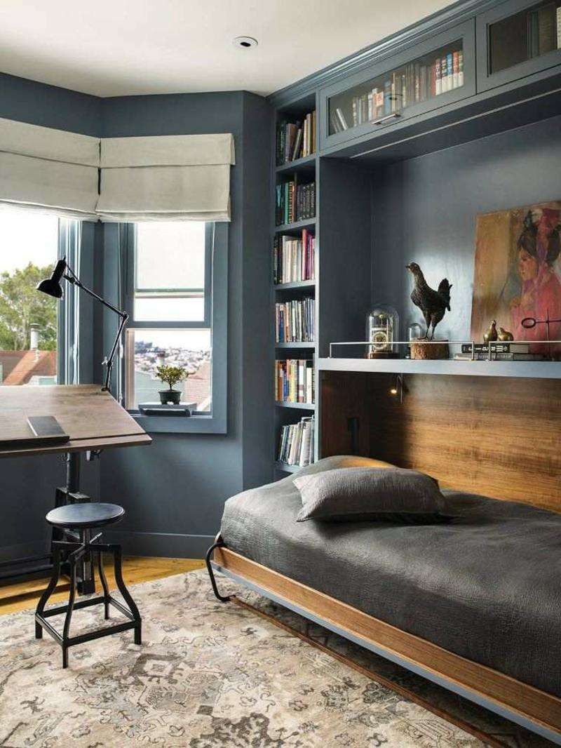 kleines Schlafzimmer Einrichtung platzsparend