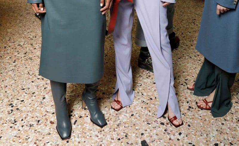 Modetrends 2021 geschlitzte Hose