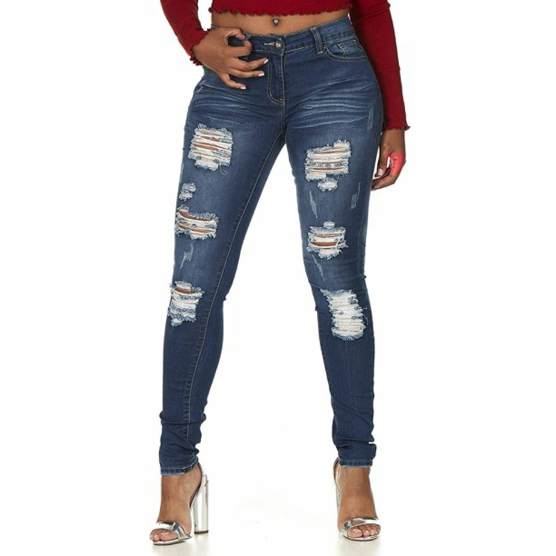 Jeans Trend 2021 Ripped Look
