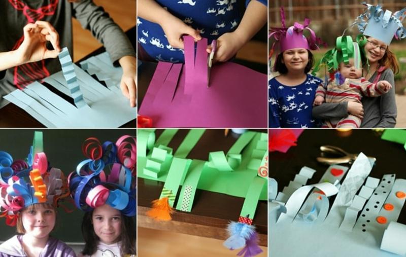 wunderschöne Karnevalshüte für Kinder