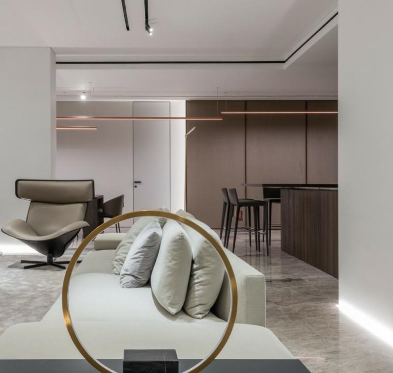 Tendenzen Einrichtung 2021 hochwertige minimalistische Möbel
