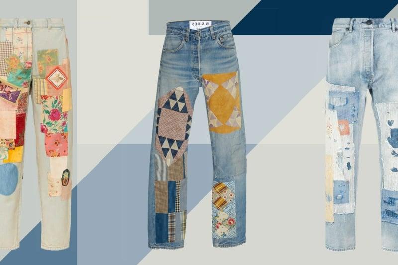 Jeans Modelle interessant ausgefallen