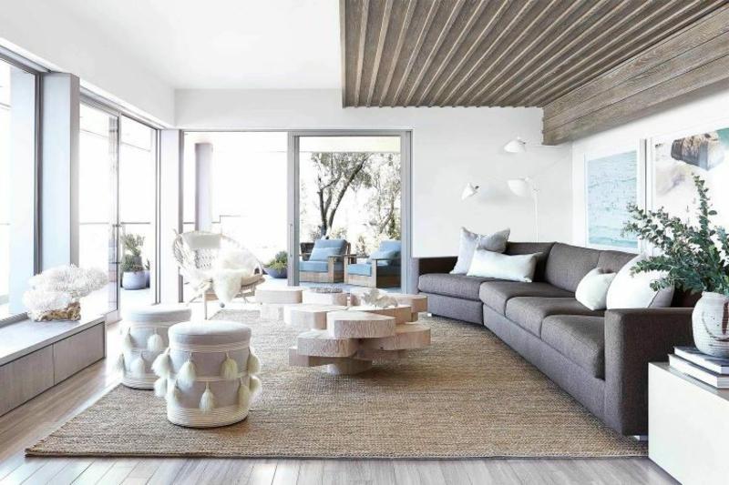 gemütliches Wohnzimmer skandinavischer Stil