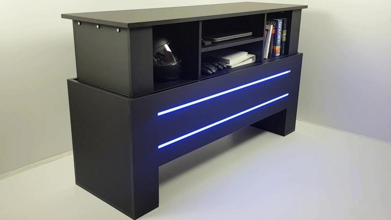 Innendesign Smartmöbel integrierte Beleuchtung
