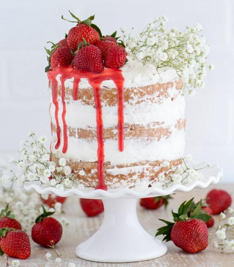 Naked Cake Dekoideen