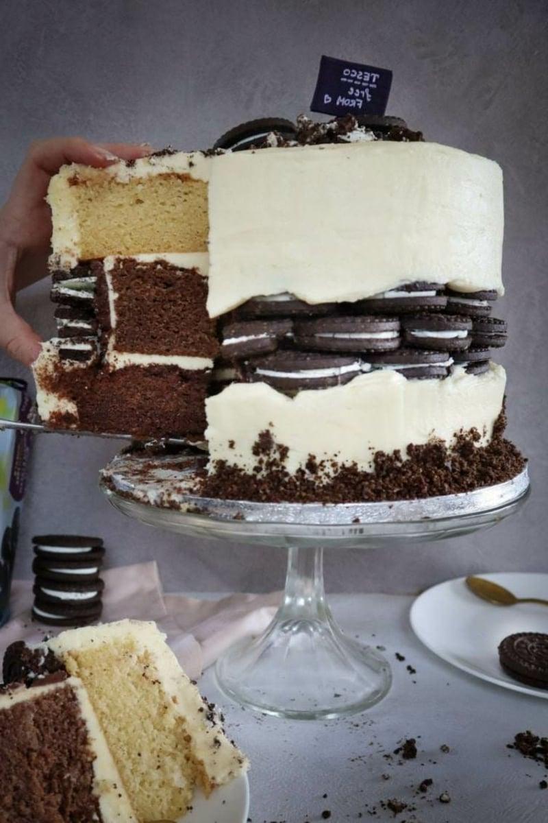 Oreo Torte kreativ dekorieren