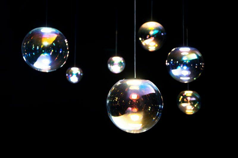 moderne Lichtkörper stilvoll