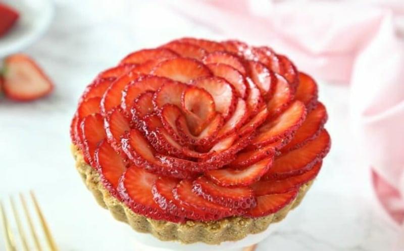 Erdbeer Deko für Torten und Kuchen tolle Ideen